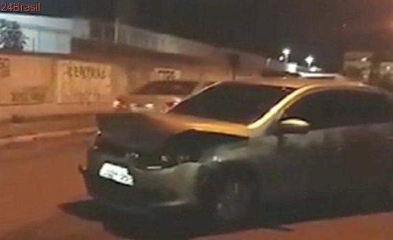 Após roubo de veículo, bandidos causam acidente durante fuga em Coqueiral de Itaparica