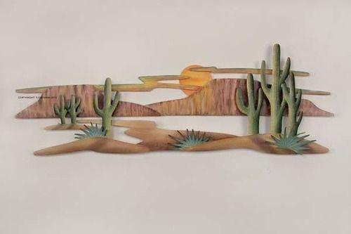 Magnificent Southwest Landscape Metal Art