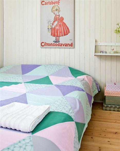 Sy selv: Flot patchwork sengetæppe - Hendes Verden