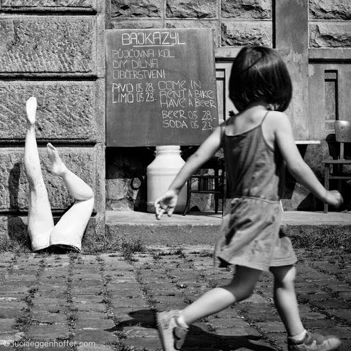 Legs are all you need, Prague, Czech Republic ©luciaeggenhoffer.com #streetphotography #blackandwhite