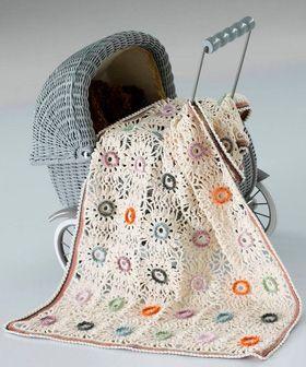 Hækl et smukt tæppe | Familie Journal