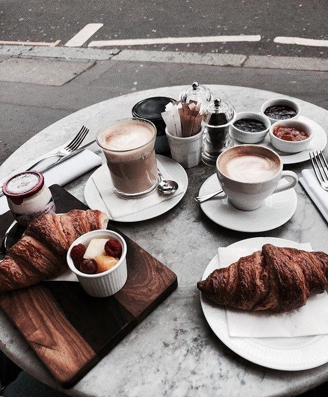 Pinterest // carriefiter // 90s fashion street wear street style  photography style hipster vintage design landscape illustrat… | Coffee  breakfast, Food, Tumblr food