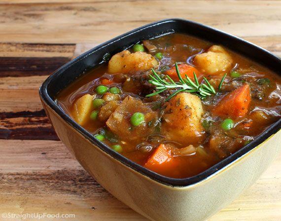 Beefless Stew - StraightUpFood.com