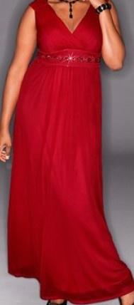 NEU HEINE M.I.M. Abendkleid Kleid 48 50 rot Pailletten wunderschön + glamourös | eBay