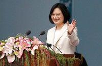 Dilantik Presiden Taiwan Tsai Ing wen