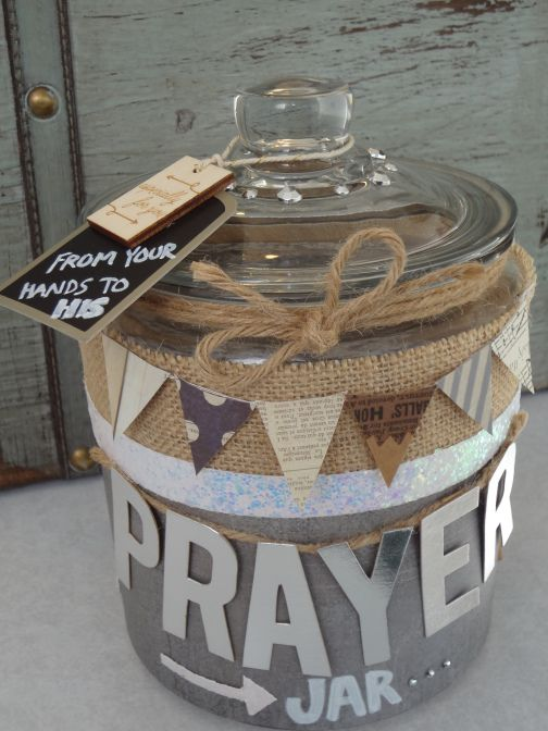 Prayer Jar- write down things you are worried about and want to pray about; then put them in the jar to loom back on over time