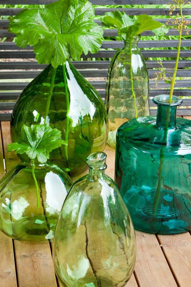 Tuintrends 2014 - MYSTERIOUS MATCH - Industrie, mix tussen historische en industriële materialen. Kleuren: kaki, houttinten met turquoise en aqua groen. Outdoor Garden Tuin Trend ♥ Fonteyn