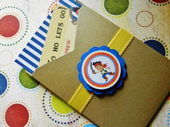 Jake and the Neverland Pirates Birthday by ThreeKidsPartyShop, $30.00