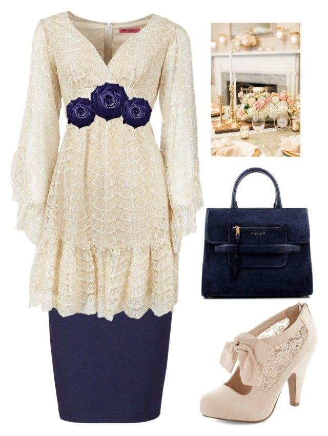 """Modest outfits"" by lizzie2461 on Polyvore featuring Sugarhill Boutique, Betsey Johnson and Marc Jacobs"