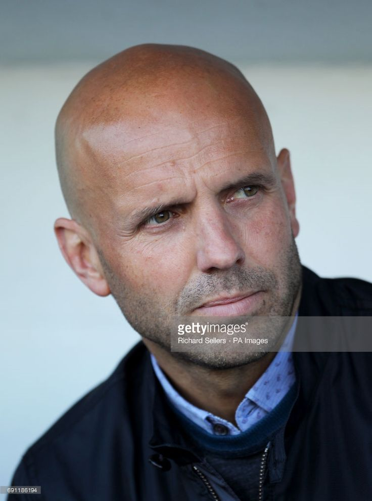 Exeter City's manager Paul Tisdale