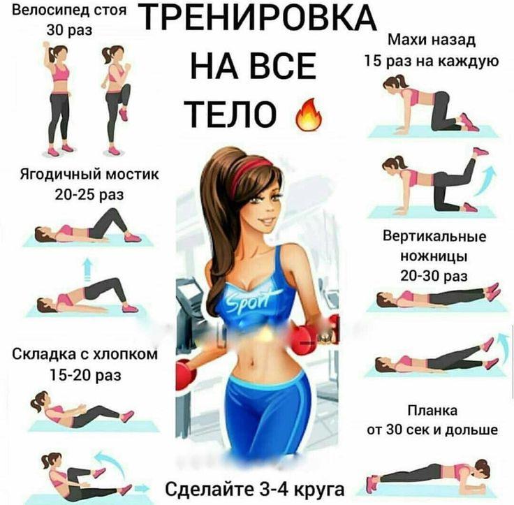 Спортивные Упражнения При Диете.