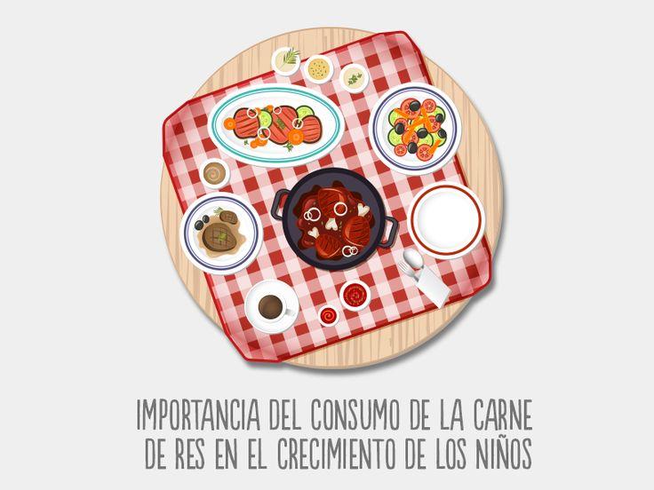 Importancia del consumo de la carne de res en el crecimiento de los niños