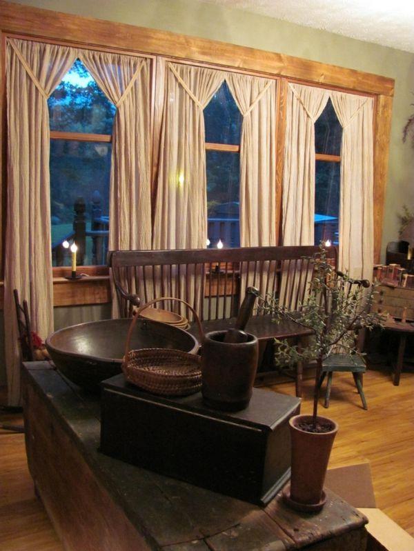 bistro gardine wohnzimmer. Black Bedroom Furniture Sets. Home Design Ideas