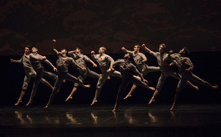 Passchendaele coreografia Neil Ieremia. Compagnia Royal New Zealand Ballet photo by Ellie Richards