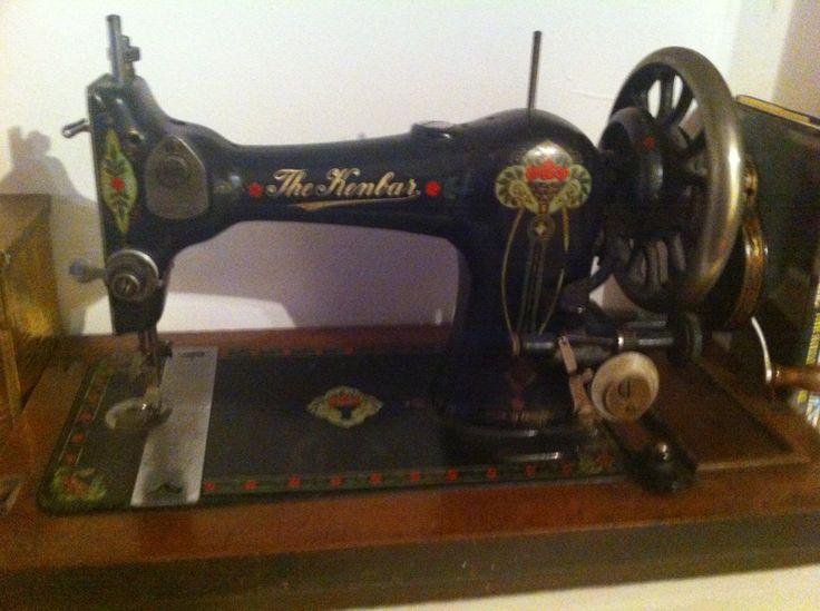 fantastic old Singer sewing machine in Dressmaker's cottage, Rye