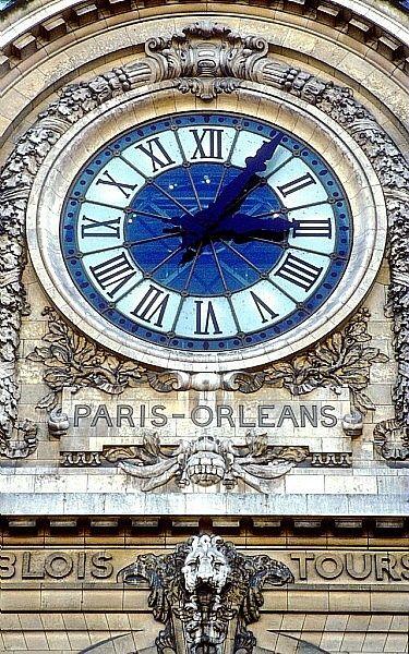 Musée d'Orsay  Paris  ancienne gare