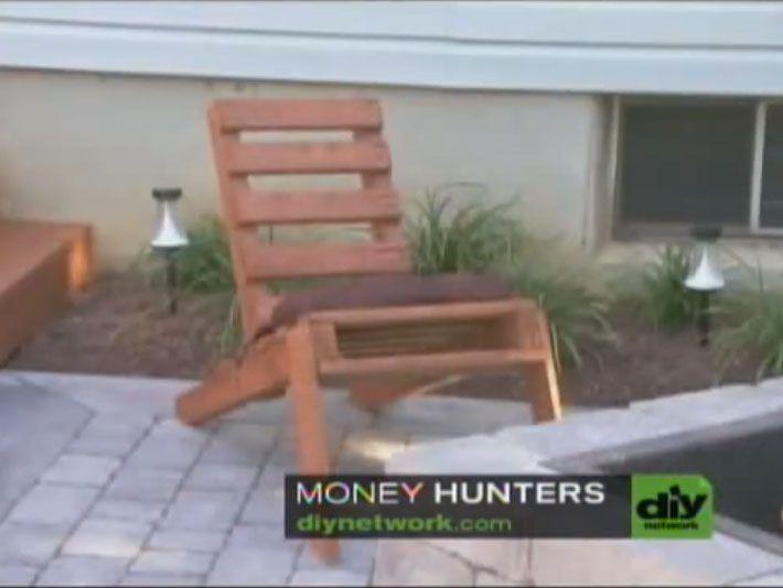 Möchten Sie einen Adirondack Stuhl-Typ mit einer Palette zu bauen? In diesem Video von nur einer Minute, werden sie Ihnen erklären, wie, wie man ein Stuhl wie der auf dem Bild zu bauen, und nur mit…
