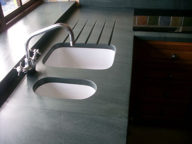 Saving up for a slate worktop from Martin at Saddleback Slate. Fab bloke. Fab products.