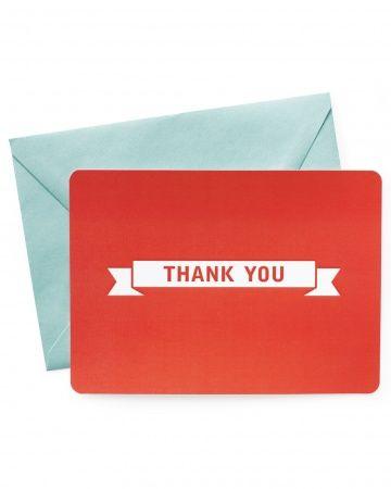 Free printable thank-you cards marthastewartweddings.com