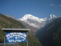 Chhomrong Village at Ghandruk Kaski.. http://www.nepalmotherhousetreks.com/abc-trekking-through-poon-hill.html