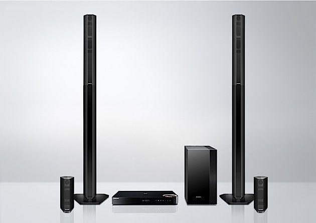 Samsung reveals new wireless streaming speaker, home theater system, portable stereo and two TV soundbars