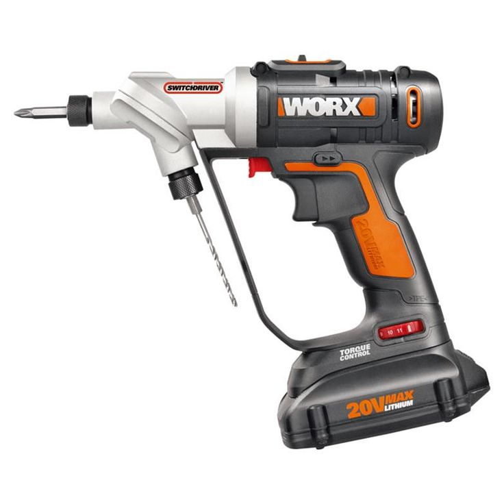WORX Switchdriver 20V Cordless Drill & Driver - WX176L