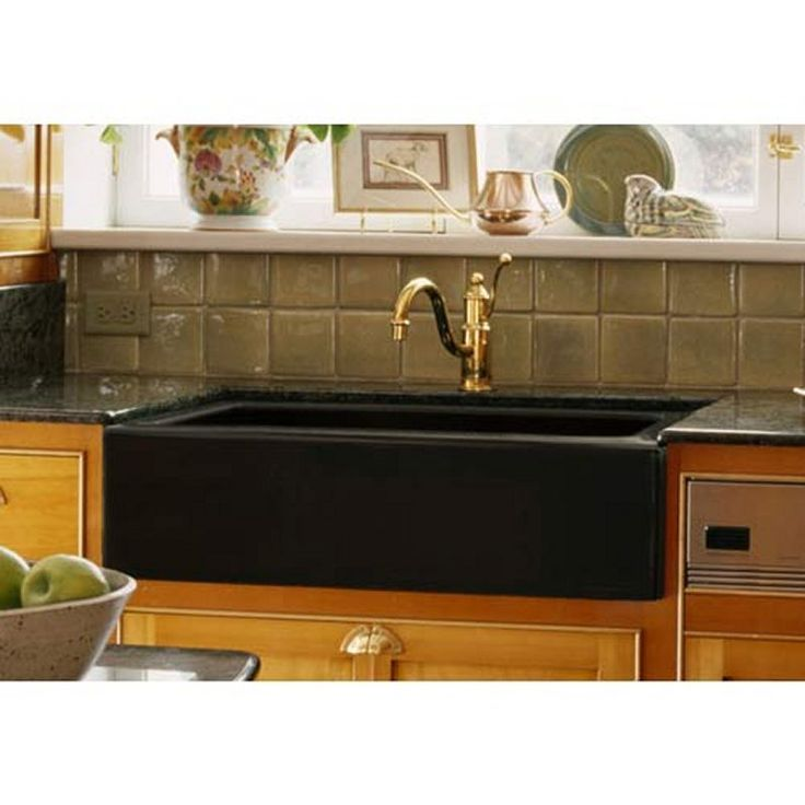 black granite composite sink photo - 4