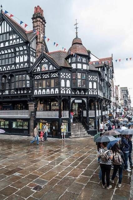 loved this little town! chester, england