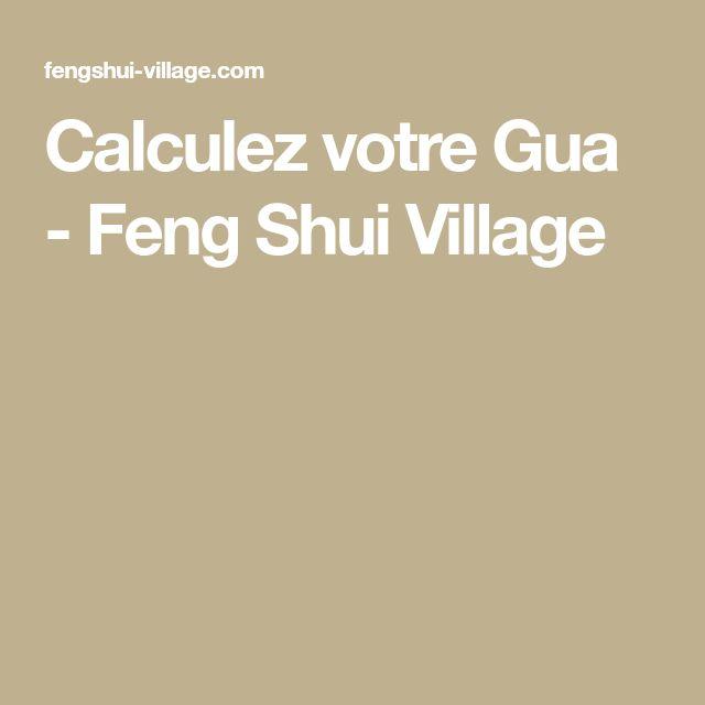 Calculez votre Gua - Feng Shui Village