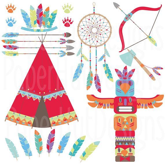 Tribal Woodland Animals Clipart Tribal Clip Art Tribal Forest Etsy Animal Clipart Clip Art Animal Totems