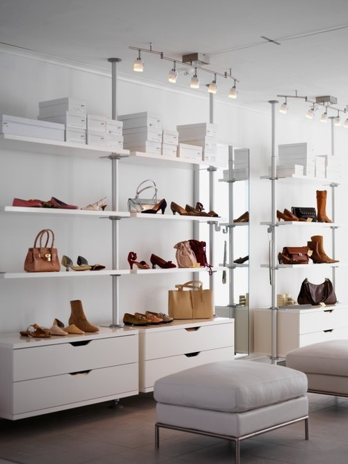 closet stolmen walk in closet pinterest blog shoes and closet. Black Bedroom Furniture Sets. Home Design Ideas