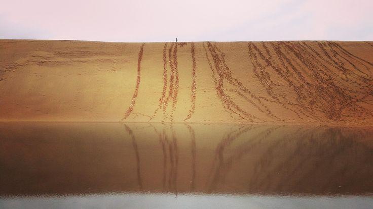 The Dunes at Tottori Japan [OC] 3264x1836 http://ift.tt/2FuwTOQ