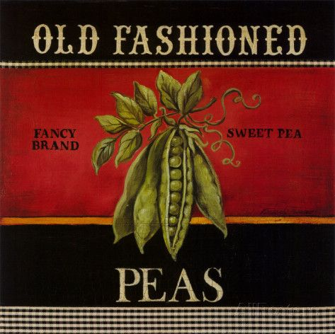 Old Fashioned Peas Art by Kimberly Poloson at AllPosters.com