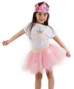 Birthday kids outfit girls birthday clothing