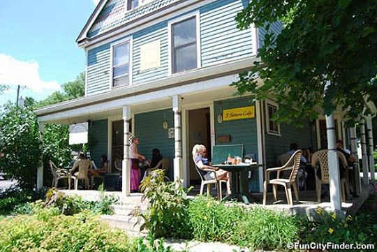 Three Sisters Cafe in Broad Ripple Village in Indianapolis, Indiana 540