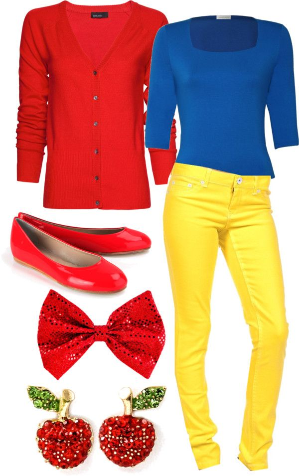 """""""Snow White Modem Outfit #1"""" by iwantfd ❤ liked on Polyvore"""