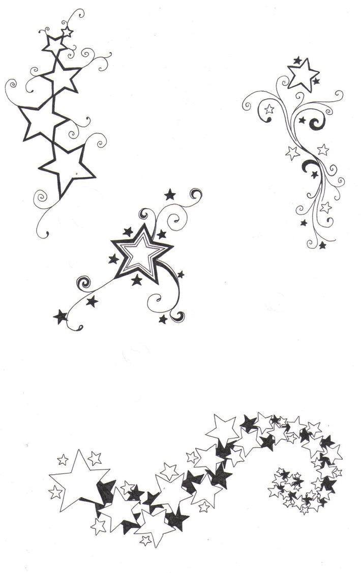 Das Stern Tattoo ist ein geschicktes Einsteigermotiv und zeitloser Klassiker Lesen Sie in sem Artikel was hinter Sterne steckt und lassen Sie sich von