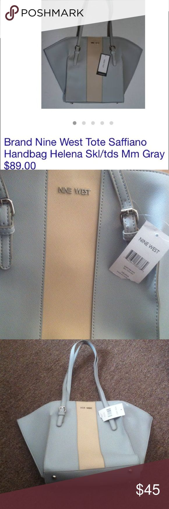 ☀️Nine West Tote Bag 🌞Nine West HELENA Tote Bag! Nice bag for a summer or spring season 😇 NEW WITH TAGS! ⭐️⭐️⭐️  ➡️➡️➡️ Willing to NEGOTIATE price if it's reasonable! Nine West Bags Totes
