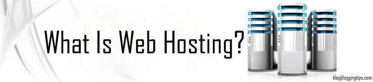 what is webhosting