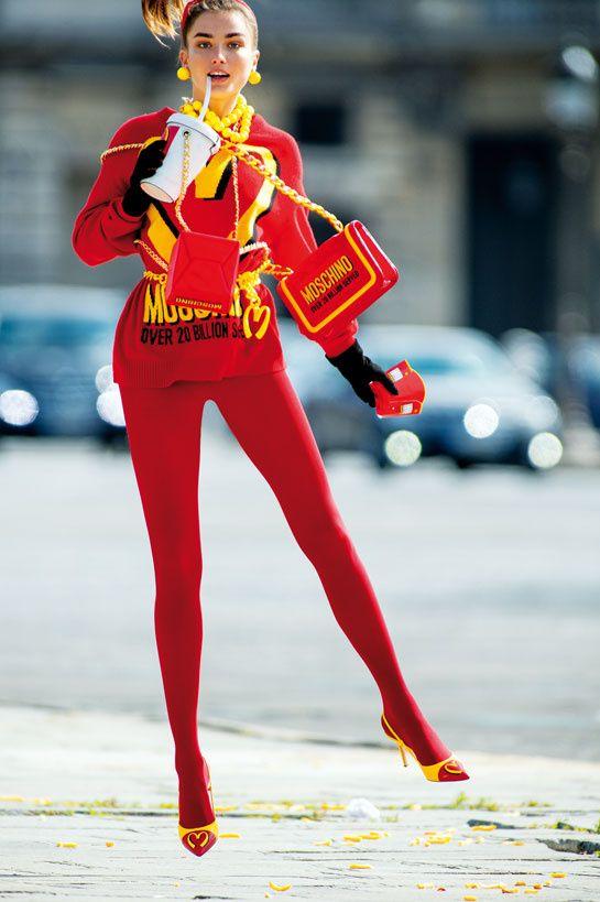 FOTO Românca Andreea Diaconu, aleasă modelul lunii august de revista #Vogue