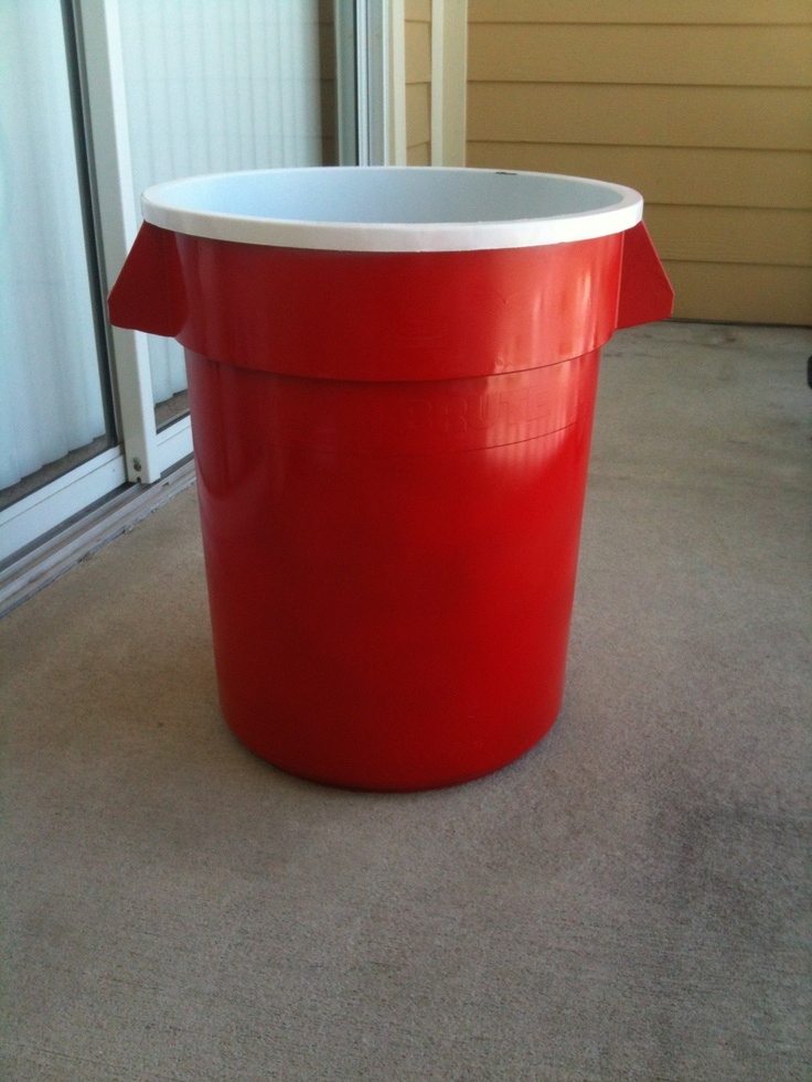 Red Solo Cup Trash Can!!!