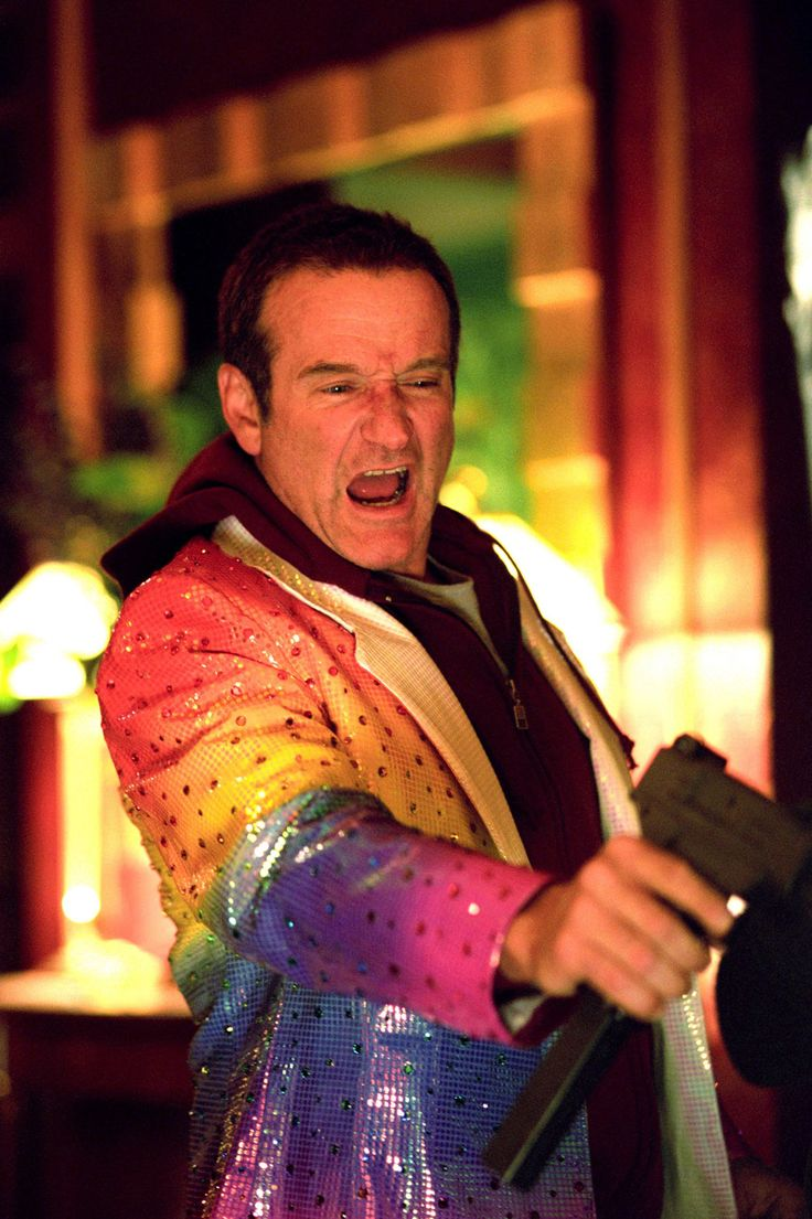 Robin Williams' Most Memorable Roles,  'Death to Smoochy' (2002)  Williams played one of two clowns alongside Edward Norton in this dark comedy directed by Danny DeVito.