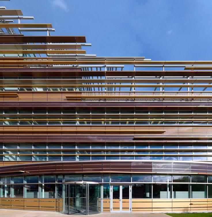 Mario cucinella architects 3m headquarters pioltello for Cucinella architects