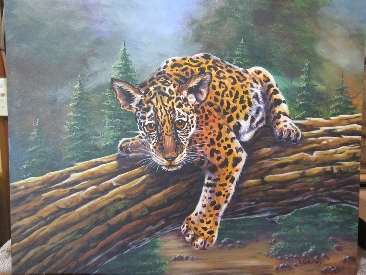 Little Jag Copyright 2012  Painted for West Jordan Elementary