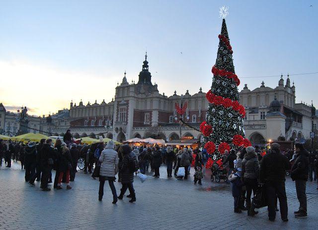 Zwiedzamy Polskę : Przedświąteczny Kraków w kadrze