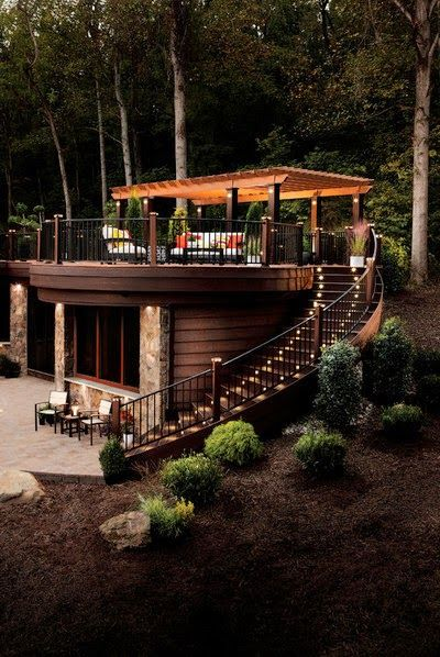 Love the idea of a rooftop patio!