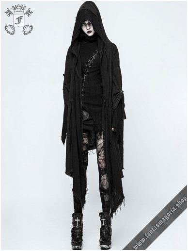 ac53f1b7805d2 Furia women's hooded jacket OPY-228FEM Punk Rave | Post-Apocalyptic | Gothic  jackets, Gothic coat, Gothic outfits