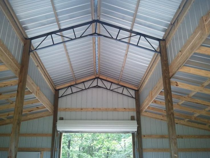 Best 25 Pole Barn Trusses Ideas On Pinterest