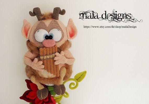Pan, Saryr - a crochet pattern by mala designs