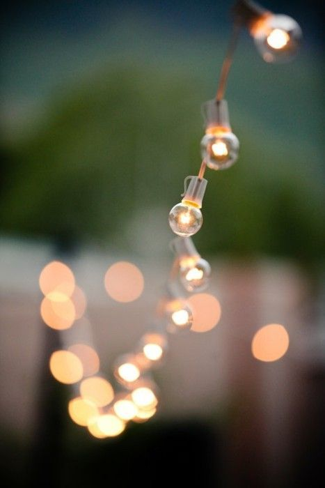 these string lights are just gorgeous.
